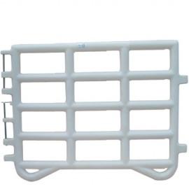 Barrière de contention 2.2m - blanc