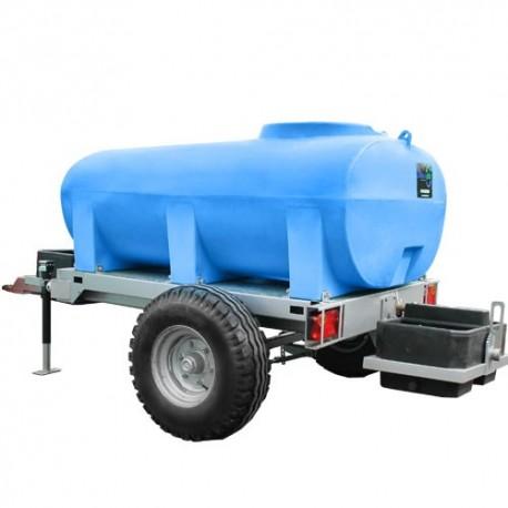 Châssis roulant et cuve à eau 2000L