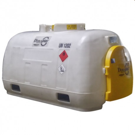 Cuve transport carburant 960L 80L/min