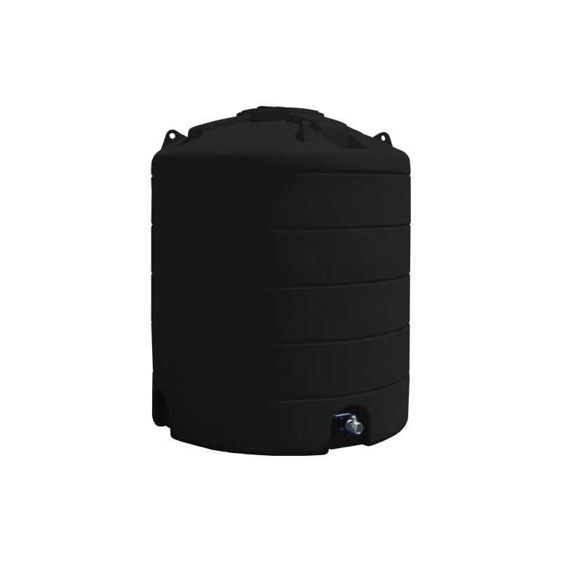 Cuve de stockage d 39 eau 6000l noire duraplas - Cuve stockage eau potable ...