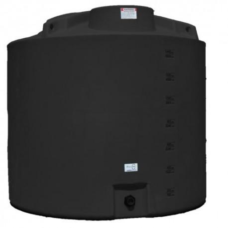 Cuve stockage d'eau 6200L noir
