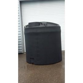 Cuve stockage eau 7200L noire