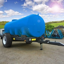 Châssis roulant et cuve à eau 8000L